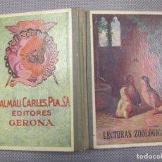 Libros antiguos: LECTURAS ZOOLÓGICAS - RODRÍGUEZ GARCÍA, GERARDO - EDI DALMAU 1924 209 PÁG + INFO. Lote 99837219