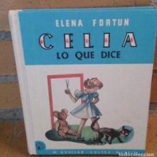 Libros antiguos: ELENA FORTUN LIBRO CELIA LO QUE DICE ALTAYA 2008. Lote 99878159