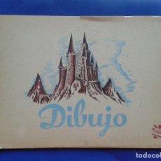 Libros antiguos: ANTIGUO CUADERNO DE DIBUJO VACIO. Lote 99893695