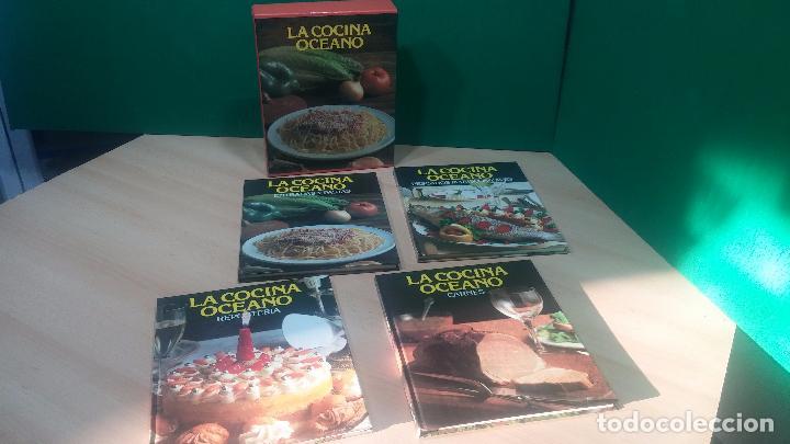 PACK DE 4 LIBROS DE COCINA, LA COCINA DE OCEANO (Libros Antiguos, Raros y Curiosos - Cocina y Gastronomía)