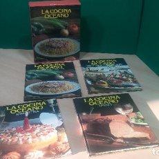 Libros antiguos: PACK DE 4 LIBROS DE COCINA, LA COCINA DE OCEANO. Lote 99910019