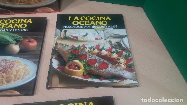 Libros antiguos: Pack de 4 libros de cocina, LA COCINA DE OCEANO - Foto 7 - 99910019