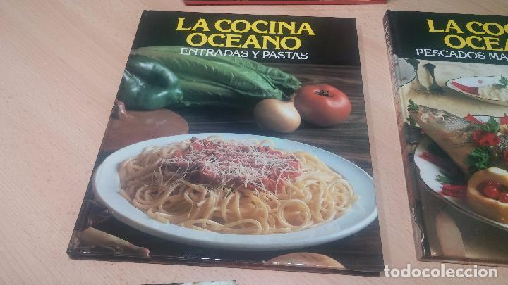 Libros antiguos: Pack de 4 libros de cocina, LA COCINA DE OCEANO - Foto 8 - 99910019