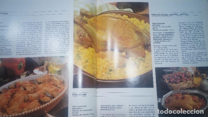 Libros antiguos: Pack de 4 libros de cocina, LA COCINA DE OCEANO - Foto 47 - 99910019
