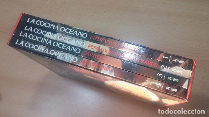 Libros antiguos: Pack de 4 libros de cocina, LA COCINA DE OCEANO - Foto 50 - 99910019