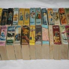 Libros antiguos: LOTE DE 37 MINI LIBROS DE LA ENCICLOPEDIA PULGA, EDICIONES G.P., AÑOS 50. Lote 99948083