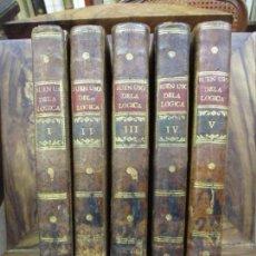 Libros antiguos: EL BUEN USO DE LA LÓGICA EN MATERIA DE RELIGIÓN. MUZZARELLI, CONDE DE. 1796-98. . Lote 99968659