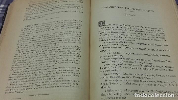 Libros antiguos: Revista Militar Española Tomo XIII 1886 - Foto 5 - 99979663