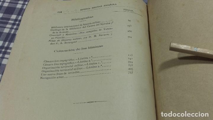 Libros antiguos: Revista Militar Española Tomo XIII 1886 - Foto 9 - 99979663