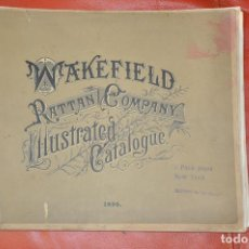Libros antiguos: WAKEFIELD RATTAN COMPANY ILLUSTRATED CATALOGUE 1890 . Lote 99988691