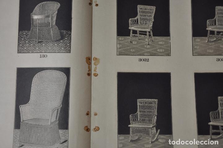 Libros antiguos: WAKEFIELD RATTAN COMPANY ILLUSTRATED CATALOGUE 1890 - Foto 6 - 99988691