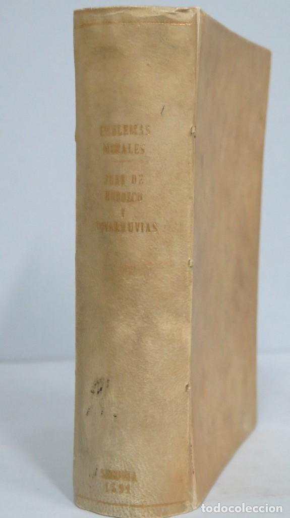 Libros antiguos: 1591.- EMBLEMAS MORALES. JUAN DE HOROZCO Y COVARRUBIAS. SEGOVIA. JUAN DE LA CUESTA - Foto 2 - 99991075