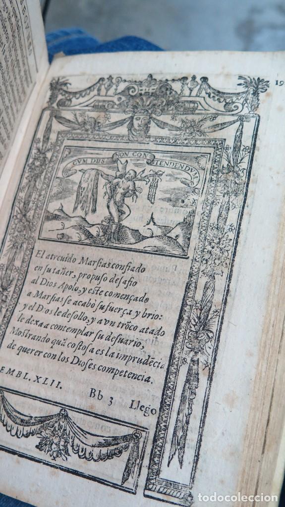 Libros antiguos: 1591.- EMBLEMAS MORALES. JUAN DE HOROZCO Y COVARRUBIAS. SEGOVIA. JUAN DE LA CUESTA - Foto 6 - 99991075