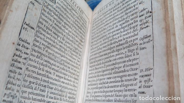 Libros antiguos: 1591.- EMBLEMAS MORALES. JUAN DE HOROZCO Y COVARRUBIAS. SEGOVIA. JUAN DE LA CUESTA - Foto 10 - 99991075