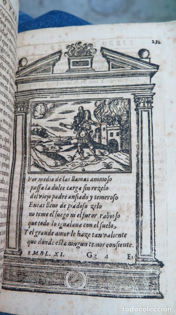 Libros antiguos: 1591.- EMBLEMAS MORALES. JUAN DE HOROZCO Y COVARRUBIAS. SEGOVIA. JUAN DE LA CUESTA - Foto 11 - 99991075