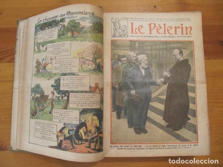 Libros antiguos: REVISTA ILUSTRADA LE PELERIN COMPLETO ENCUADERNADO 1930 -31 Le pelerin Revue illustree - Foto 3 - 100120191