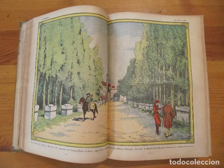 Libros antiguos: REVISTA ILUSTRADA LE PELERIN COMPLETO ENCUADERNADO 1930 -31 Le pelerin Revue illustree - Foto 5 - 100120191