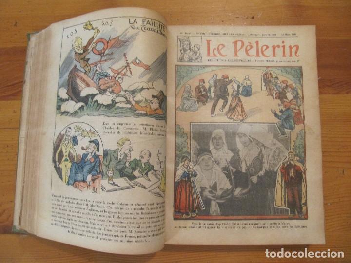 Libros antiguos: REVISTA ILUSTRADA LE PELERIN COMPLETO ENCUADERNADO 1930 -31 Le pelerin Revue illustree - Foto 6 - 100120191