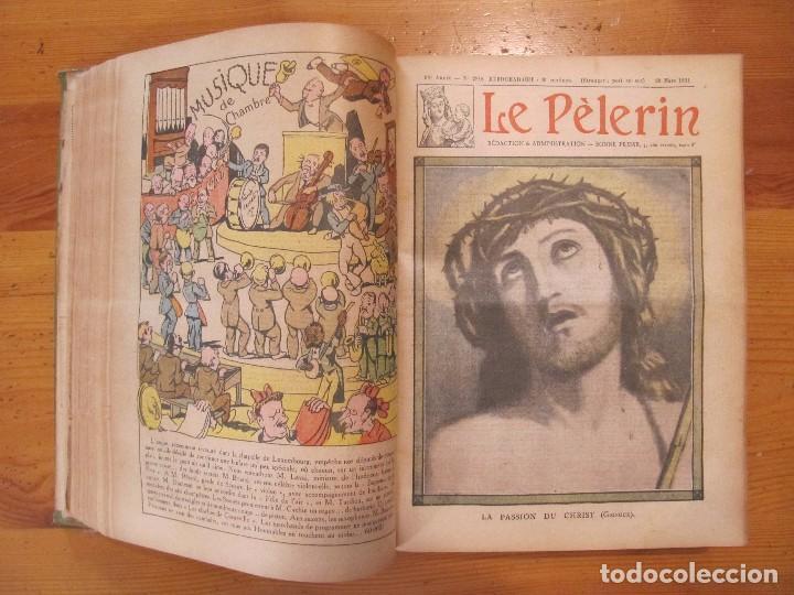Libros antiguos: REVISTA ILUSTRADA LE PELERIN COMPLETO ENCUADERNADO 1930 -31 Le pelerin Revue illustree - Foto 8 - 100120191