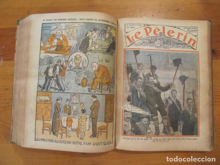 Libros antiguos: REVISTA ILUSTRADA LE PELERIN COMPLETO ENCUADERNADO 1930 -31 Le pelerin Revue illustree - Foto 11 - 100120191