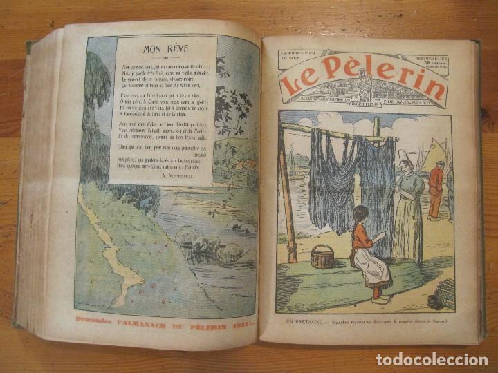 Libros antiguos: REVISTA ILUSTRADA LE PELERIN COMPLETO ENCUADERNADO 1930 -31 Le pelerin Revue illustree - Foto 13 - 100120191