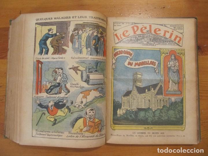 Libros antiguos: REVISTA ILUSTRADA LE PELERIN COMPLETO ENCUADERNADO 1930 -31 Le pelerin Revue illustree - Foto 14 - 100120191