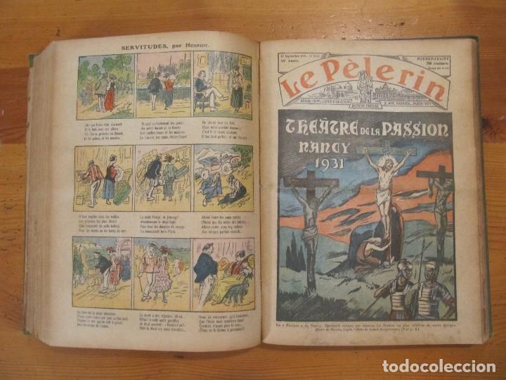 Libros antiguos: REVISTA ILUSTRADA LE PELERIN COMPLETO ENCUADERNADO 1930 -31 Le pelerin Revue illustree - Foto 15 - 100120191