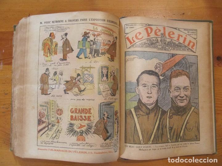 Libros antiguos: REVISTA ILUSTRADA LE PELERIN COMPLETO ENCUADERNADO 1930 -31 Le pelerin Revue illustree - Foto 22 - 100120191