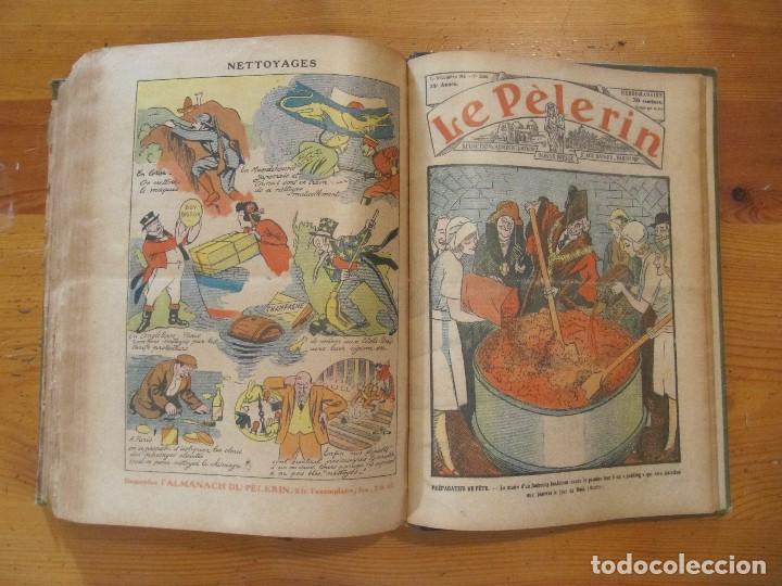 Libros antiguos: REVISTA ILUSTRADA LE PELERIN COMPLETO ENCUADERNADO 1930 -31 Le pelerin Revue illustree - Foto 23 - 100120191