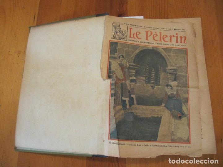 Libros antiguos: REVISTA ILUSTRADA LE PELERIN COMPLETO ENCUADERNADO 1930 -31 Le pelerin Revue illustree - Foto 27 - 100120191