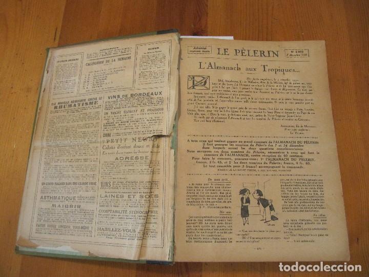 Libros antiguos: REVISTA ILUSTRADA LE PELERIN COMPLETO ENCUADERNADO 1930 -31 Le pelerin Revue illustree - Foto 28 - 100120191