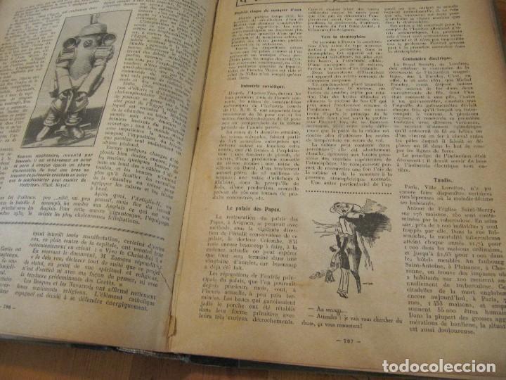 Libros antiguos: REVISTA ILUSTRADA LE PELERIN COMPLETO ENCUADERNADO 1930 -31 Le pelerin Revue illustree - Foto 33 - 100120191