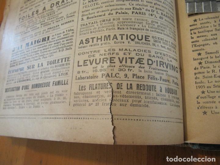 Libros antiguos: REVISTA ILUSTRADA LE PELERIN COMPLETO ENCUADERNADO 1930 -31 Le pelerin Revue illustree - Foto 34 - 100120191