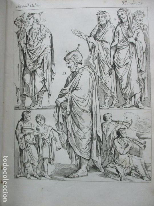 Libros antiguos: COSTUME DES ANCIENS PEUPLES, A L'USAGE DES ARTISTES. M. DANDRÉ BARDON. 3 TOMOS. 1784-1785. - Foto 6 - 100135467