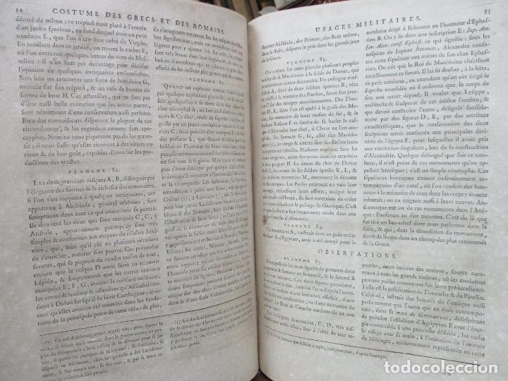 Libros antiguos: COSTUME DES ANCIENS PEUPLES, A L'USAGE DES ARTISTES. M. DANDRÉ BARDON. 3 TOMOS. 1784-1785. - Foto 11 - 100135467