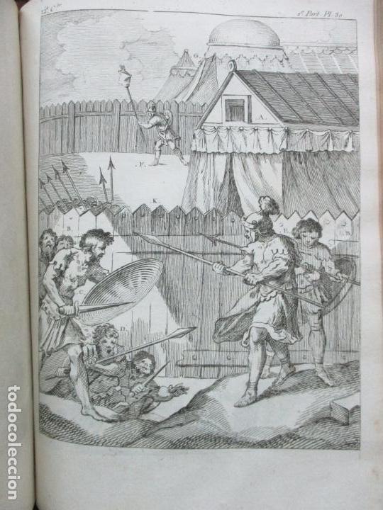 Libros antiguos: COSTUME DES ANCIENS PEUPLES, A L'USAGE DES ARTISTES. M. DANDRÉ BARDON. 3 TOMOS. 1784-1785. - Foto 12 - 100135467