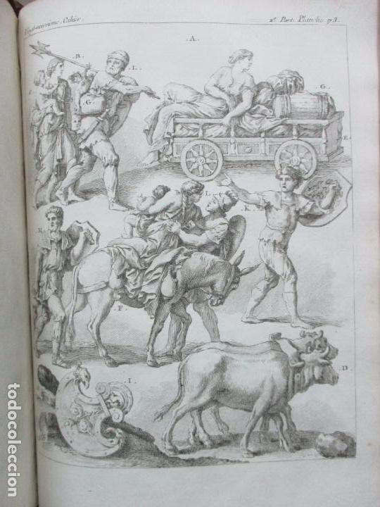 Libros antiguos: COSTUME DES ANCIENS PEUPLES, A L'USAGE DES ARTISTES. M. DANDRÉ BARDON. 3 TOMOS. 1784-1785. - Foto 13 - 100135467
