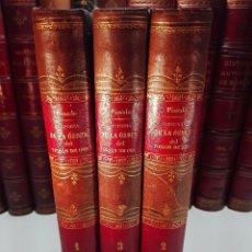 Libros antiguos: HISTORIA DE LA INSIGNE ORDEN DEL TOYSON DE ORO - 3 TOMOS - IMPRENTA REAL - MADRID - 1787 -. Lote 100183487