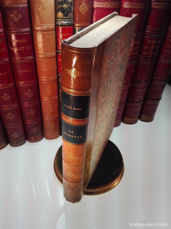 LA BARRACA - VICENTE BLASCO IBAÑEZ - ILUSTRACIONES DE JOSÉ BENLLIURE - PROMETEO - VALENCIA - 1929 - (Libros antiguos (hasta 1936), raros y curiosos - Literatura - Narrativa - Otros)
