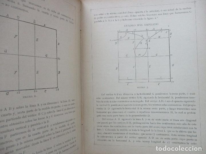 Libros antiguos: NUEVO MÉTODO DE CORTE PARA SASTRES. EL ARTE DE CORTAR SIN MAESTRO. JOVANI Y GUASTAVINO, Andrés. 1899 - Foto 3 - 100289683