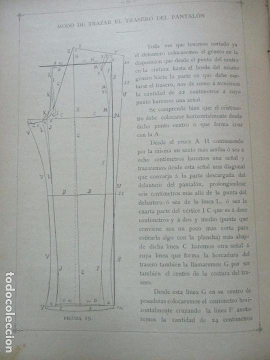 Libros antiguos: NUEVO MÉTODO DE CORTE PARA SASTRES. EL ARTE DE CORTAR SIN MAESTRO. JOVANI Y GUASTAVINO, Andrés. 1899 - Foto 4 - 100289683