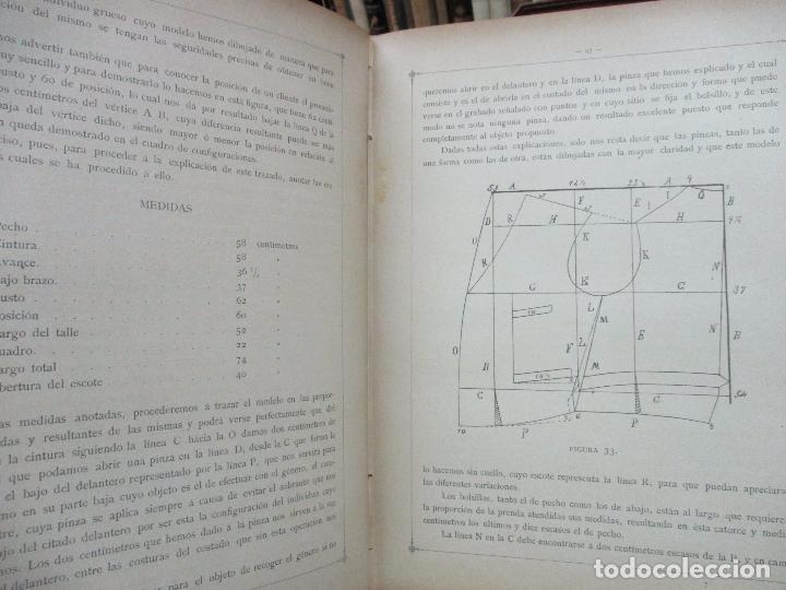 Libros antiguos: NUEVO MÉTODO DE CORTE PARA SASTRES. EL ARTE DE CORTAR SIN MAESTRO. JOVANI Y GUASTAVINO, Andrés. 1899 - Foto 5 - 100289683