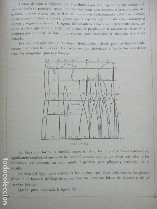 Libros antiguos: NUEVO MÉTODO DE CORTE PARA SASTRES. EL ARTE DE CORTAR SIN MAESTRO. JOVANI Y GUASTAVINO, Andrés. 1899 - Foto 6 - 100289683
