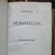 Libros antiguos: JOURNAL DES DEMOISELLES. TRENTE-DEUXIÈME ANNÉE. [REVISTA.] 1864. MODA. GRABADOS DE MODA. . Lote 100295403