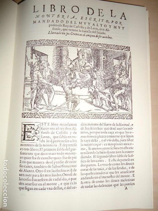 LIBRO DE LA MONTERIA DE ALFONSO XI - GONZALO ARGOTE DE MOLINA (CAZA - GEOGRAFÍA) 1582 (Libros Antiguos, Raros y Curiosos - Ciencias, Manuales y Oficios - Otros)