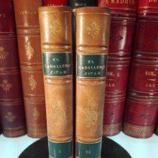 Libros antiguos: EL CAVALLERO ZIFAR - CON UN ESTUDIO POR MARTÍN DE RIQUER - SELECCIONES BIBLIÓFILAS - BARCELONA -1951. Lote 100473583
