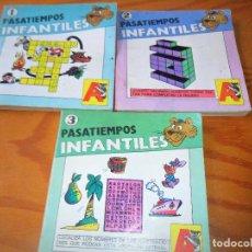 Libros antiguos: PASATIEMPOS INFANTILES - ED. ASTRI 1987. Lote 100982423
