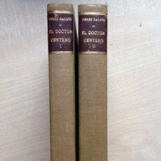 Libros antiguos: EL DOCTOR CENTENO TOMO I Y II B. PEREZ GALDOS 1905. NOVELAS ESPAÑOLAS CONTEMPORANEAS EXLIBRIS .. Lote 100985595