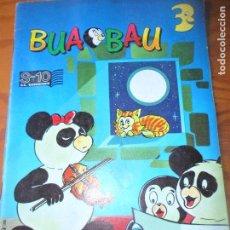 Libros antiguos: BUA BAU- CUENTOS, COMICS, JUEGOS Y PASATIEMPOS - EDICIONES SL 1989. Lote 100996131