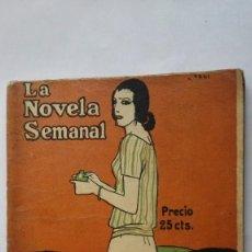 Libros antiguos: LA NOVELA SEMANAL, LA OTRA RAZA - RAMON GOMEZ DE LA SERNA. Lote 101000111